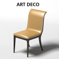 oak design art deco chair dining stool sc1019