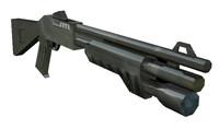 Benelli M3 Super 90 c4d.rar