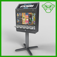 sticker machine
