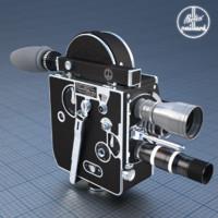 3d film camera bolex 16mm model