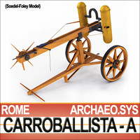 Roman Artillery Carroballista A [W.Soedel-V.Foley]