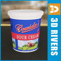 Sour cream pack by 3DRivers