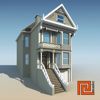 3d model san francisco house games