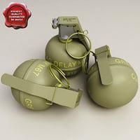 m67 grenade 3d 3ds