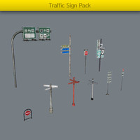 Traffic sign Pack