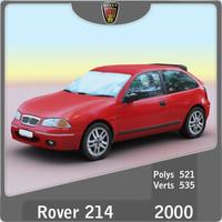 3d 2000 rover 214