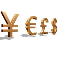 money symbol 3d model