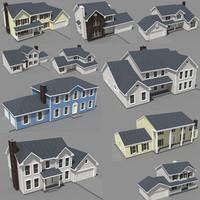 story houses 3d model
