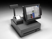 ibm register touch 3d model