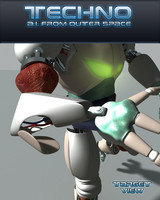 robot droid 3d model