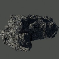 Large Detailed Asteroid
