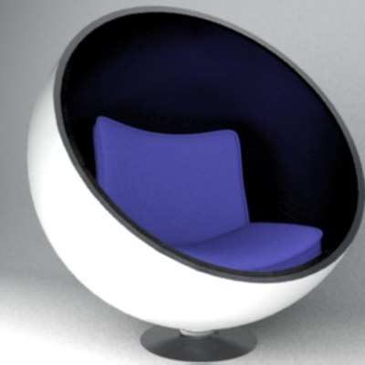 free max mode spherical modern chair