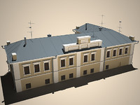 real old building 3d max