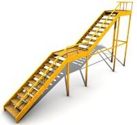 escada externa 3d model