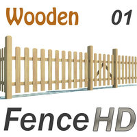 Fence - Wooden Hi Res