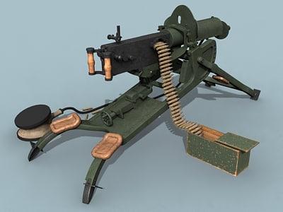mg08 machine gun