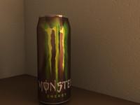 c4d monster