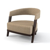 3d model giorgetti chair armchair