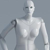 3dsmax female woman human