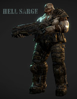 Hell Sarge Monster