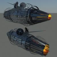 max space ship probe