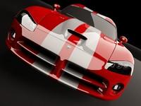 dodge viper srt 10 3d model