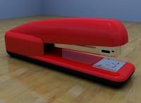 staple stapler 3d model