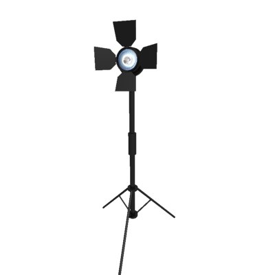 studio light 3d model - Studio Light... by bobbz