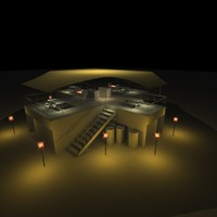 3d model urban base