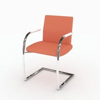 Orangebox Wave Sled Base Chair