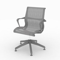 herman miller setu meeting 3d model