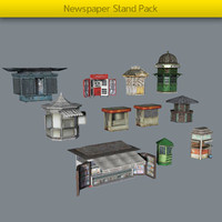 Newspaper Stand Pack