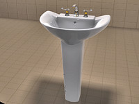 Pro-linkup Sink and AquaBrass Delfino Faucet Set
