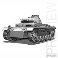 SD.KFZ 141 PzKpfw 3 - Panzer 3 Ausf.E