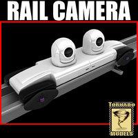 rail camera 3d model