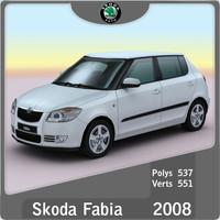 2008 Skoda Fabia new