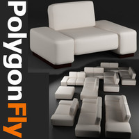 furniture sofa couch 3d model
