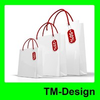 White Shop Bag