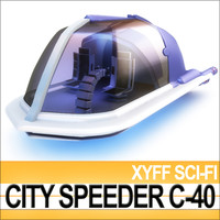 xyff sci-fi city speeder 3ds