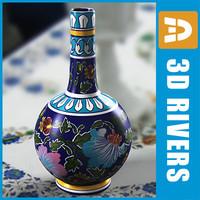 3d indian vase india