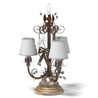 mechini table lamp classic swarowski