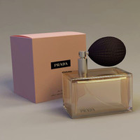 3d model prada perfume