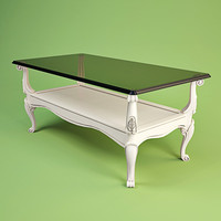 volpi coffee table 3d model