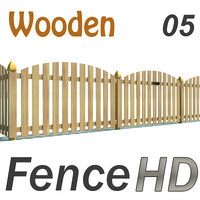 Fence Wooden with Gate