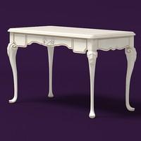 savio firmino classic 18 century table desk notte fatata 1986-1