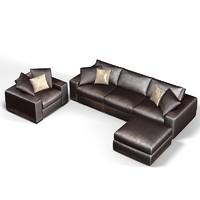 3d sofa chair pouf