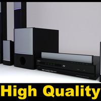 Sony BDV-E500W