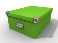 box storage 3d c4d