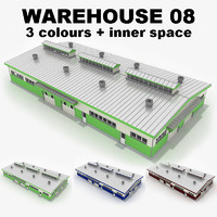 warehouse 08 3d model