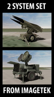 US Military Hawk Missile & Radar